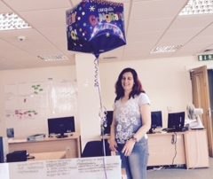 Congratulation Agapi on becoming certified project manager
