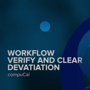 Workflow Verify and Clear Deviation