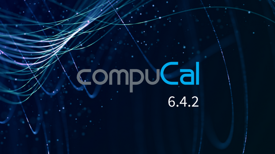 CompuCal 6.4.2 new release