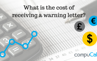 What is the cost of a warning letter?