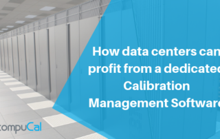 Data Centers and Calibration Management Software