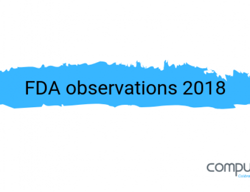 Calibration related FDA inspection observations for 2018