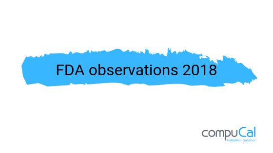 Calibration issues in FDA observations