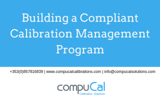 Webinar title: Compliant Calibration Management Program