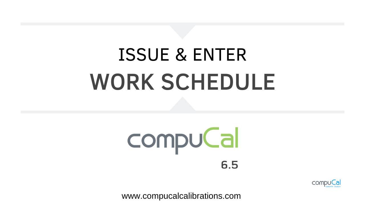 Issue and enter work order video